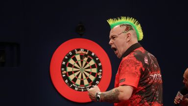 Peter Wright won his second World Series of Darts title