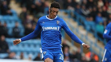 Sean Clare spent the first half of last season on loan at Gillingham