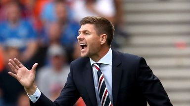 fifa live scores - Rangers boss Steven Gerrard promises attacking football against Maribor