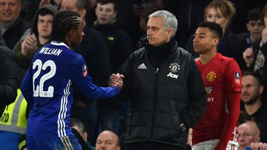 fifa live scores - Chelsea's Willian targeting Jose Mourinho reunion