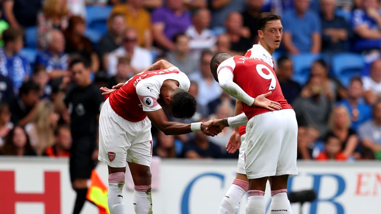 Pierre-Emerick Aubameyang and Alexandre Lacazette have the conditions for an important partnership for Arsenal