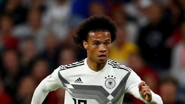 Sane withdraws from Germany squad after chat with Joachim Low