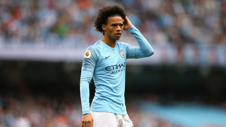 Leroy Sane did not even make the bench on Saturday