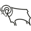Derby County Club Badge