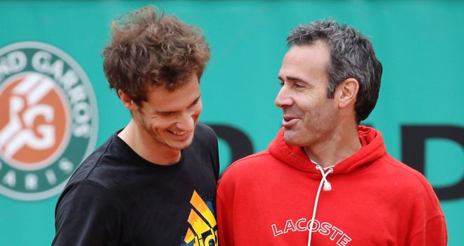 Alex Corretja was part of Murray's coaching team between 2008 and 2011