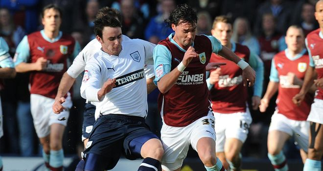 Treacy: Has signed a three-year contract at Burnley after joining for an undisclosed fee