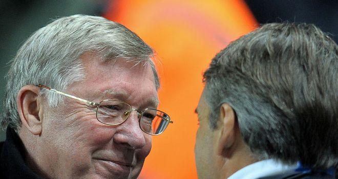 Sir Alex Ferguson: Manchester United boss faces Manchester City counterpart Roberto Mancini again