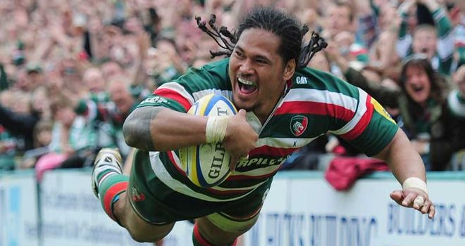 Tuilagi: crossed for his 12th try of the campaign in final minute