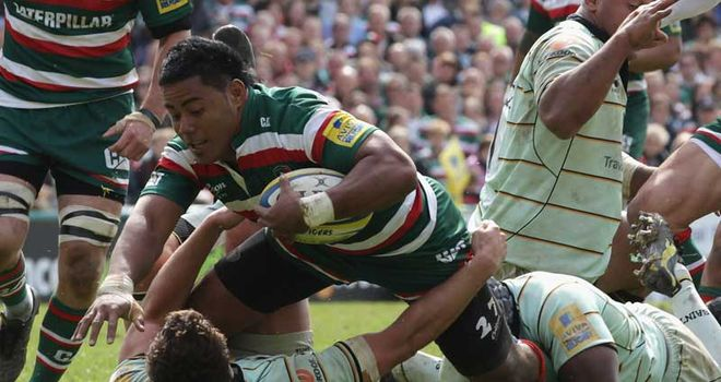Manu Tuilagi: lucky not to see red in the first half