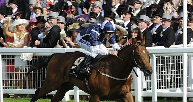Frederick Engels impressed in the last under Johnny Murtagh.