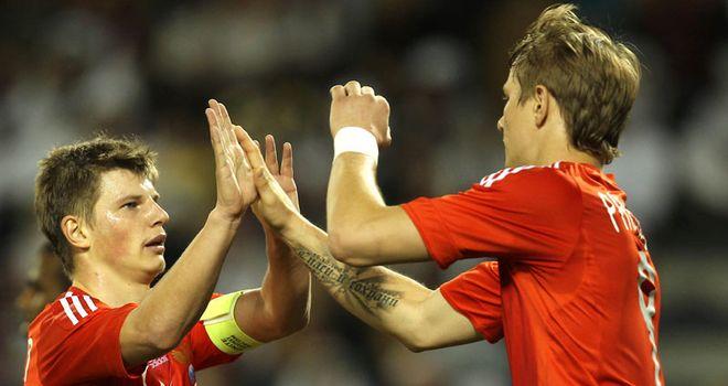 Andrei Arshavin: Inspired Russia to their win in Denmark