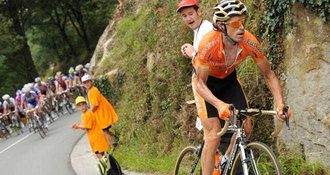 Samuel Sanchez: The Spaniard's constant attacking finally paid off on stage six