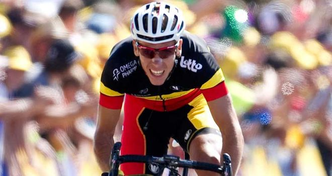 Gilbert: Racked up yet another win to become the most successful cycling in the world this year