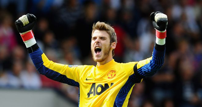 De Gea struggled to adapt to English football in his first season