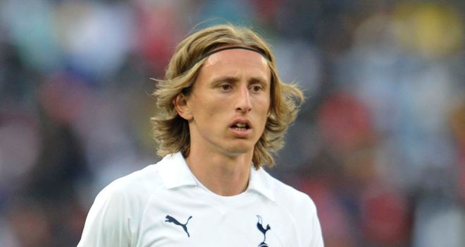 Modric: Continued to be linked with Chelsea but Redknapp has no intention of selling