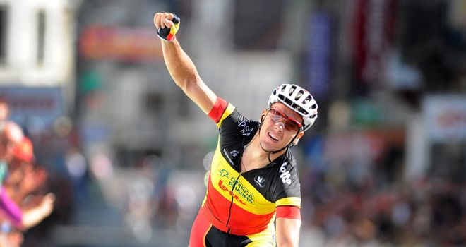 Gilbert: A succession of late attacks sealed another memorable win for the Belgian