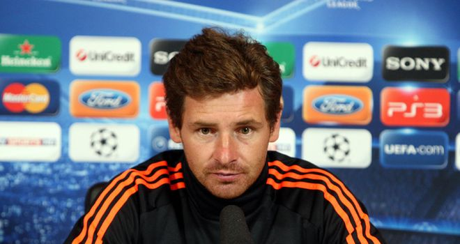 Andre Villas-Boas: Will keep to his attacking style in vital clash against Valencia