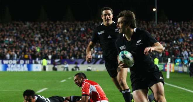 Smith: Opened the scoring for the All Blacks