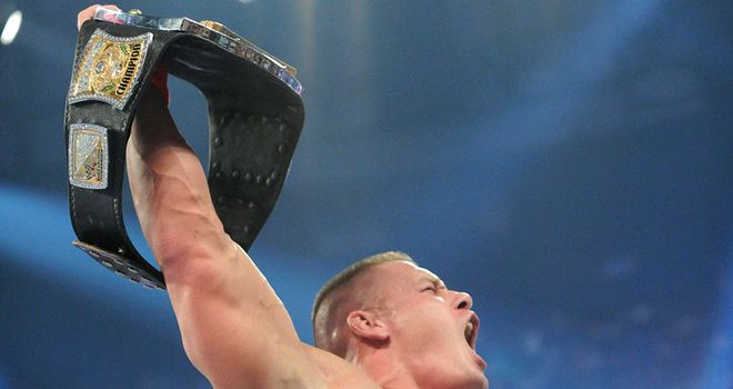 Cena: will he get your vote as Superstar of the Year?