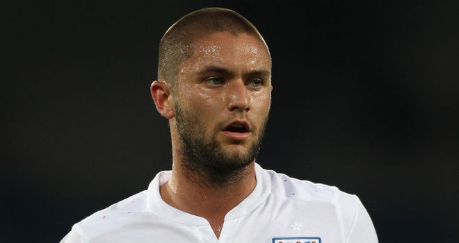 Lansbury: Was named man of the match after scoring twice for England U21s