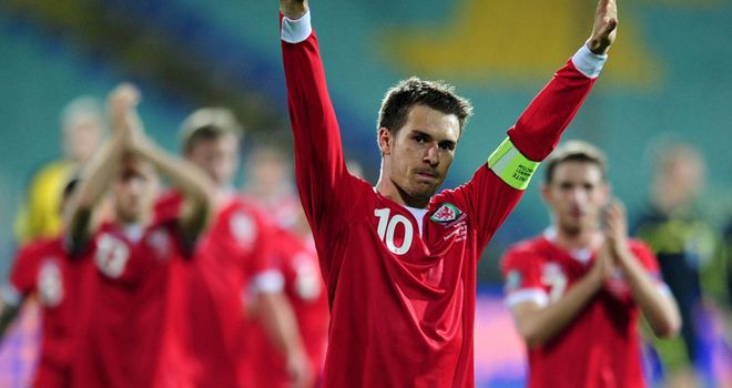Aaron Ramsey: Set to remain as Wales skipper under new boss Chris Coleman