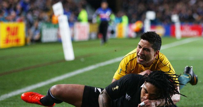 Ma'a Nonu scores the game's only try
