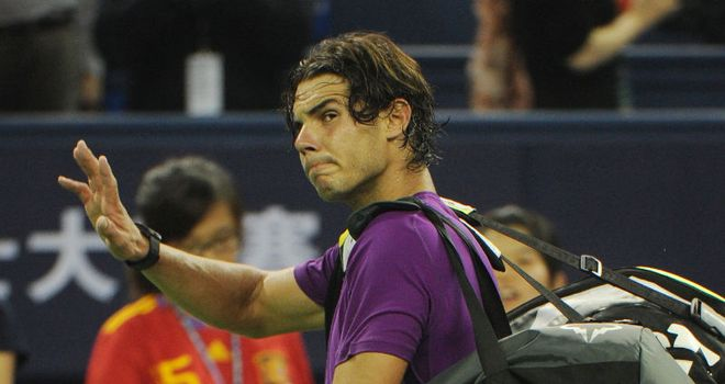 Rafael Nadal: Dumped out of Shanghai Masters by Florian Mayer