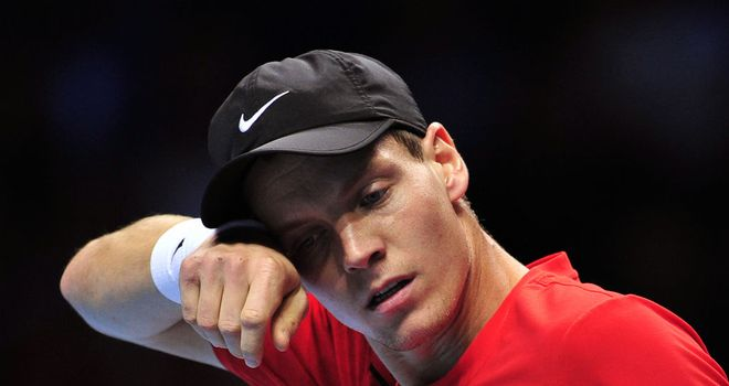 Tomas Berdych: Tops Group A, meaning he will face Jo-Wilfried Tsonga on Saturday