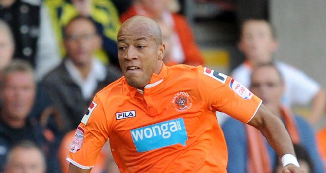 Baptiste: On target for Blackpool