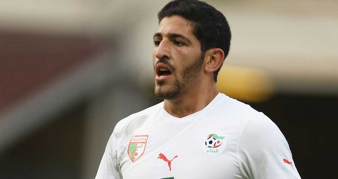 Rafik Halliche: Has found first-team opportunites hard to come by since joining Fulham and could be on his way out of the club