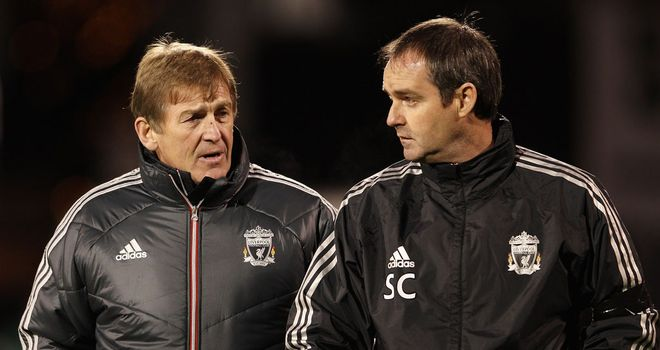 Steve Clarke: Has followed Kenny Dalglish out of the dugout at Anfield