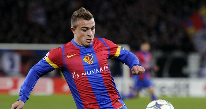 Xherdan Shaqiri: Has agreed a four-year contract with Bayern Munich