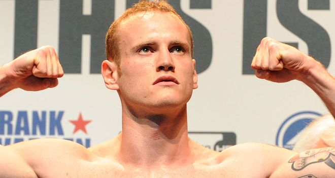 George Groves: Defends the Commonwealth title against veteran Glen Johnson