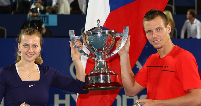 Kvitova and Berdych lift the Hopman Cup in Perth