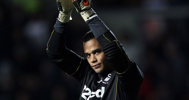 Michel Vorm: Making no excuses for Aston Villa's first goal in Swansea's defeat at Villa Park