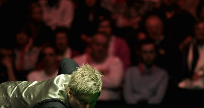 Neil Robertson: excited to compete on home soil