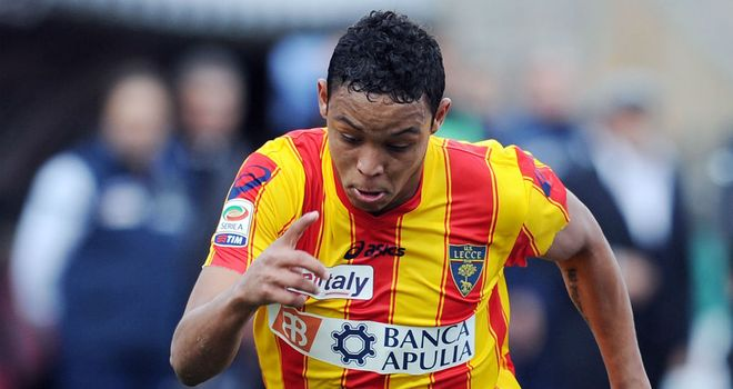 Luis Muriel: Has caught the eye during a loan spell at Lecce