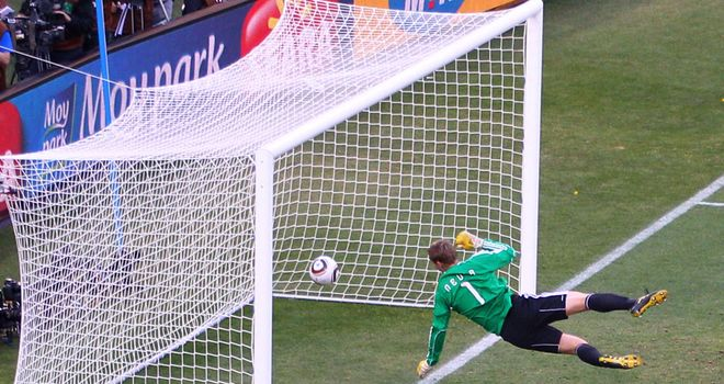 Goal-line technology has been given the green light by FIFA