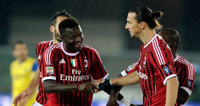 Sulley Muntari: Won the match