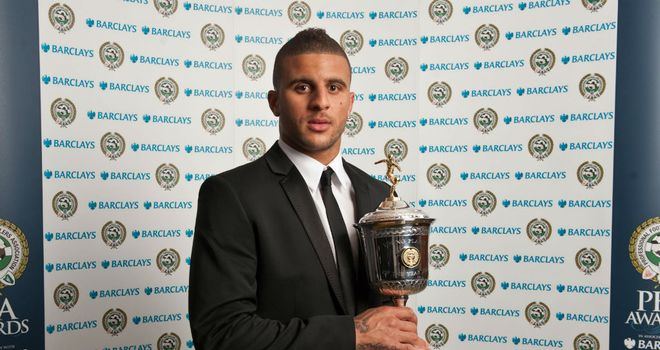Kyle Walker: Named PFA Young Player of the Year