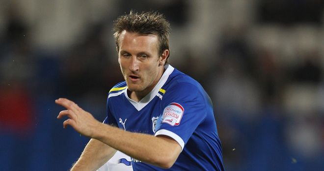 Lee Naylor: Experienced left-back is on trial at Birmingham