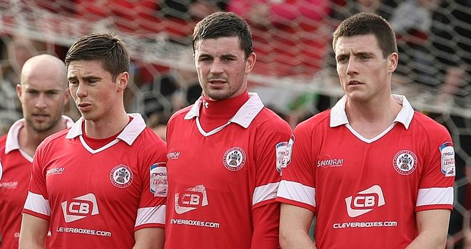Reds: Signed three players from youth ranks