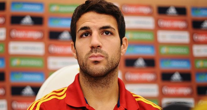 Cesc Fabregas: Wanted by Moyes at Old Trafford
