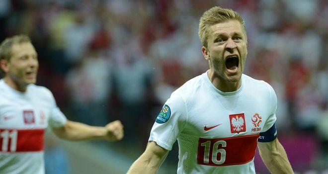 Jakub Blaszczykowski: On target for Poland