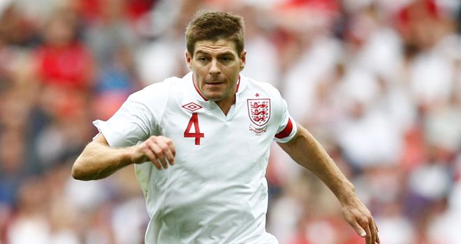 Steven Gerrard: England have lost four members of their initial 23-man squad for Euro 2012