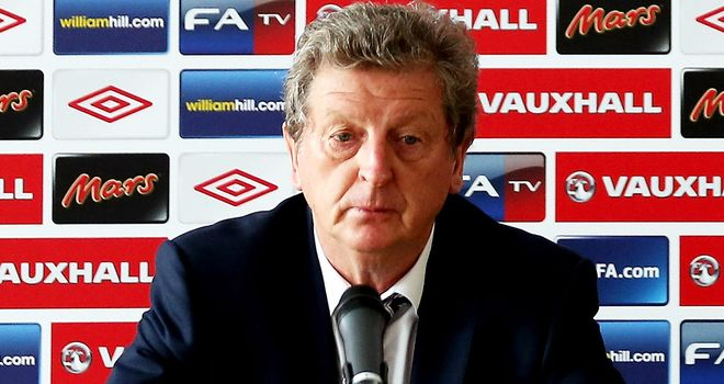 Roy Hodgson: Will use Italy friendly in August as an opportunity to experiment