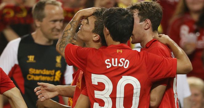 Suso: Could be given more chances at Liverpool