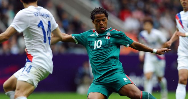 Giovani dos Santos: Has penned a four-year contract with Real Mallorca
