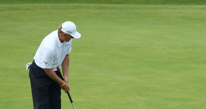 Ernie Els won the Open with the help of a belly putter