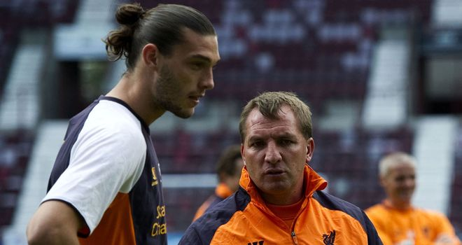 Andy Carroll: A £35million cover player, according to Liverpool manager Brendan Rodgers